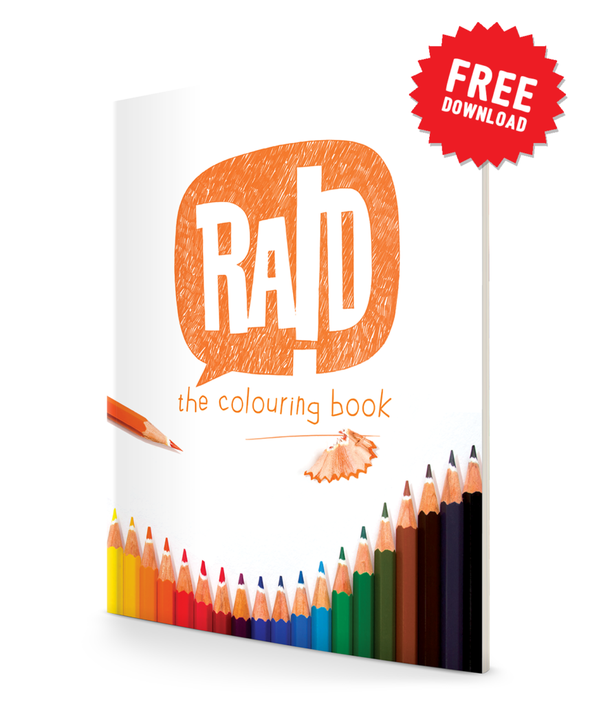 RAID the colouring book!