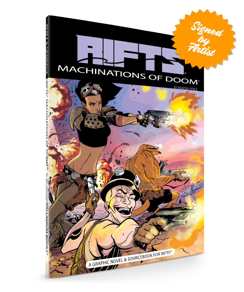RIFTS® Machinations Of Doom™
